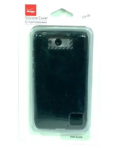 Verizon Silicone Matte Hybrid Protection Case For Motorola Droid Maxx - Black