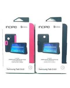 Incipio Clarion New Folio With Magnetic Closure Case for Samsung Tab E 8.0""