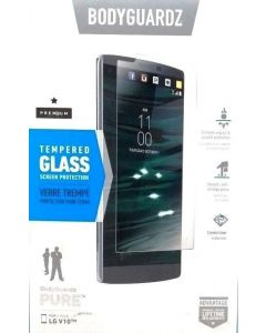 New BodyGuardz Pure Tempered Glass Screen Protector For LG V10