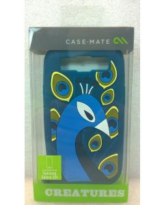 New Box Case Mate Peacock Creatures Silicone Case For Samsung Galaxy S3