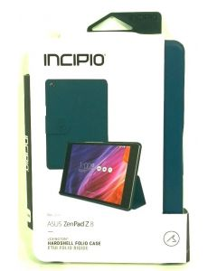 Incipio Lexington Hardshell Folio Leather Case for Asus ZenPad Z8 - Blue