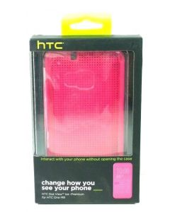 New Authentic HTC Dot View Ice Premium - for HTC One M9 - Lot Of 10