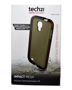 Tech21 Impact Mesh New Authentic Protective Case For Samsung Galaxy S4 - Black