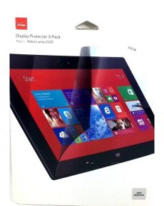 Verizon Display Screen Protector 3-Pack For Nokia Lumia 2520 Tablet