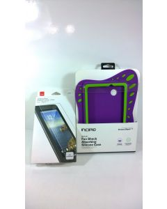 Incipio Protective Silicone Case for Verizon Ellipsis 7 W/Glass Screen Protector