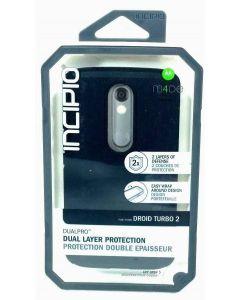 Incipio DualPro Dual Layer Protection Case For Motorola Droid Turbo 2 - Lot 10