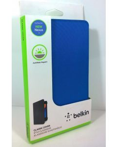 New in Box Belkin Classic Cover W/AutoWake Magnets For Google Nexus 7 Tablet