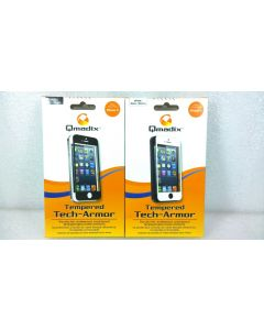 Qmadix Tempered Tech-Armor Tempered Glass Screen Protector for iPhone 5
