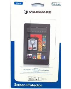 Marware 5 in 1 Anti Scratch 2-Pack Screen Protector For Amazon Kindle Fire