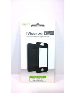 Moshi iVisor AG Advanced Anti-Glare Screen Protector for iPhone 4/4s - Black