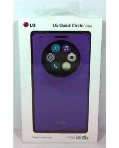 New LG Smart Flip Wallet Folio Quick Circle Window Case for LG G3