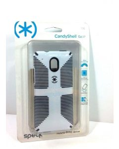 Speck CandyShell Grip New Protection Case for HTC One Mini - White/Black