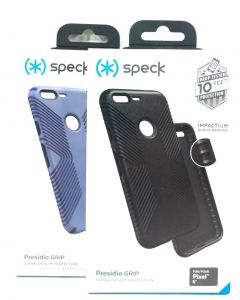 Speck Presidio Grip Slim Shock Absorbing Case for Google Pixel 5""