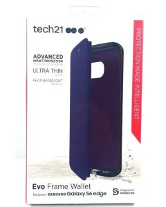 Tech21 Evo Frame Wallet Ultra Thin Protection Case for Samsung Galaxy S6 Edge