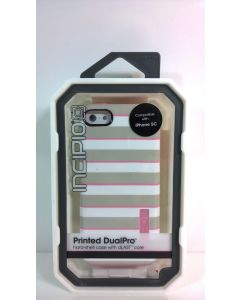 New Incipio Printed DualPro Dual Layer Protection Case for iPhone 5c - Strips