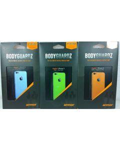 BodyGuardz Armor Rindz Screen Protector/Protective Skin For Apple iPhone SE/5/5s