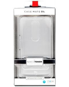 Case-Mate Naked Tough Case W/Clear Media Stand for Motorola Nexus 6