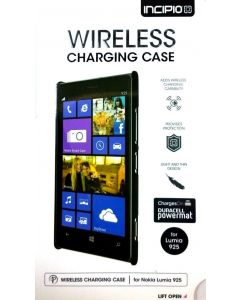 Incipio Wireless Charging Case for Nokia Lumia 925 - Black For Duracell PowerMat