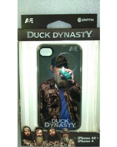 New A&E Uncle Duck Dynasty Tea Cup Case by Griffin for Apple iPhone 4/4s - Black