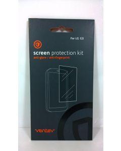 Ventev Anti-Glare Screen Protector 2-Pack Kit For LG G3