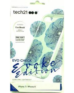 Tech21 Evo Check Evoke Edition - FlexShock Protection - For Apple iPhone 8 / 7